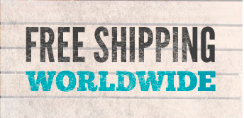 We do free shipping worldwide for all products